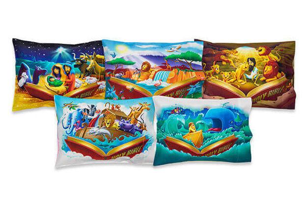 Bible Verse Pillow 5-pack